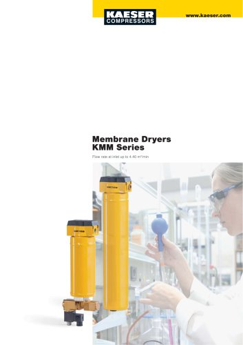 Membrane dryers KMM series