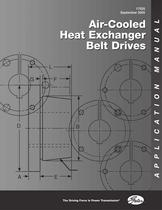 Air Cooled heat Exchanger Belt Drives