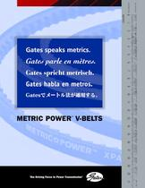 Gates Metric Power Belts