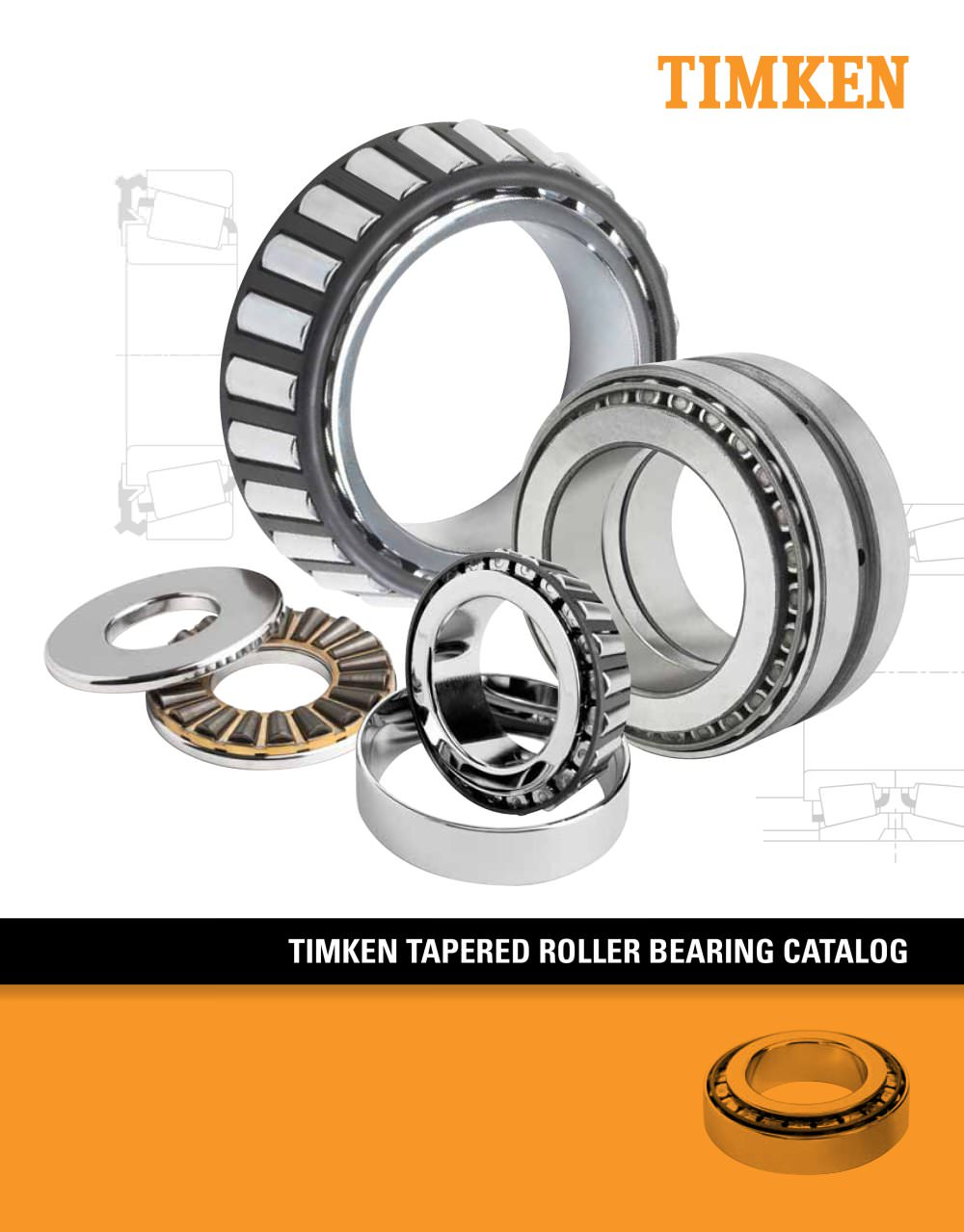 Timken Tapered Roller Bearing Catalog 834 Pages