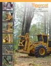 Tigercat 5000 bunching saw