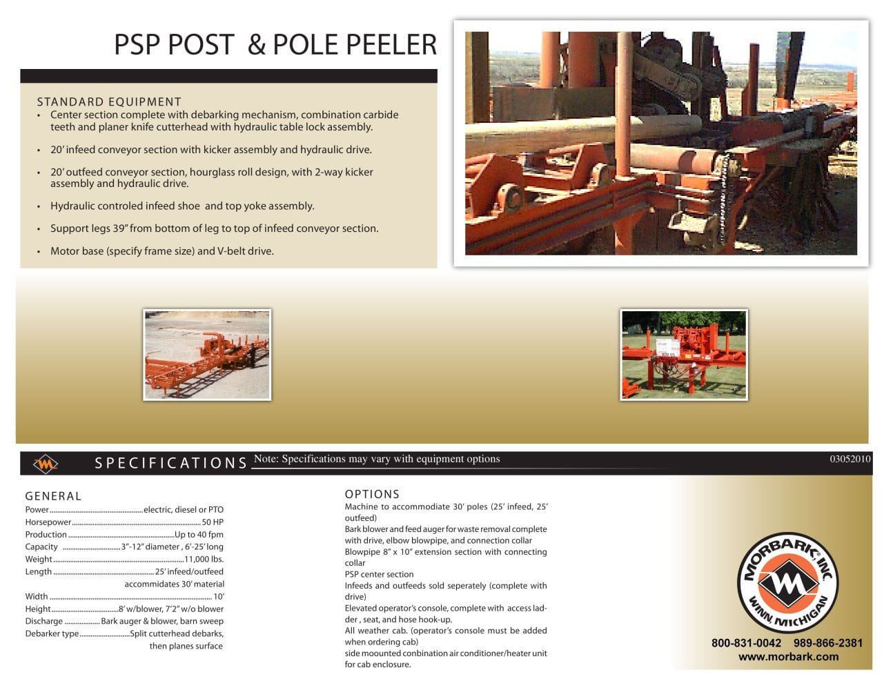 PSP Pole and Post Peeler - 1 / 1 Pages