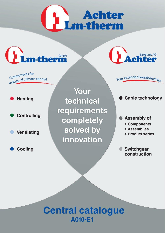 A010-D1 - Lm-therm - PDF Catalogue | Technical Documentation | Brochure