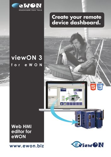 viewon - eWON - PDF Catalogs | Technical Documentation
