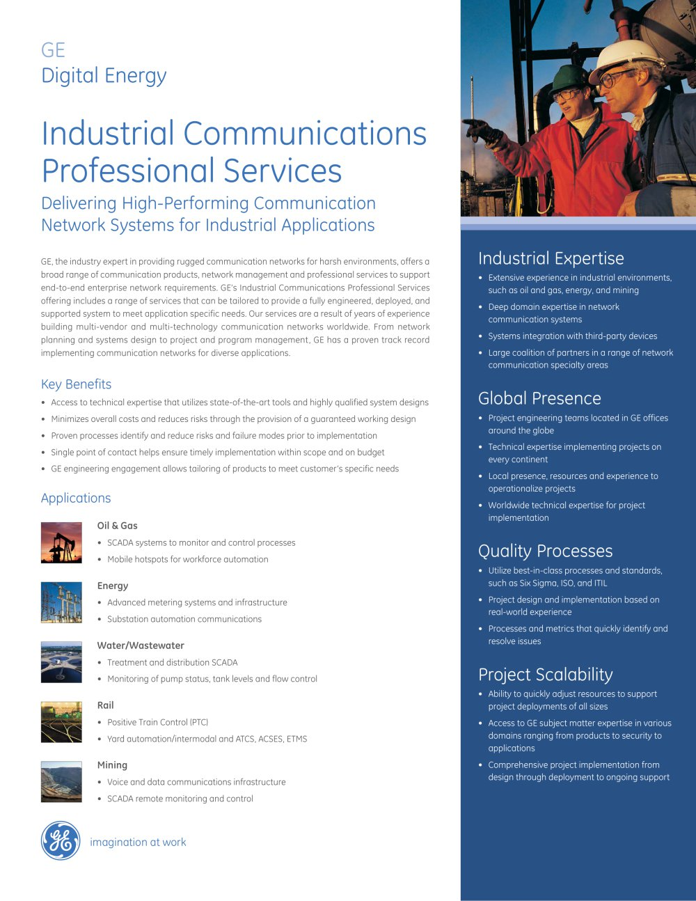 Ge Tech Support Digital Energy Industrial Communications Professional Services