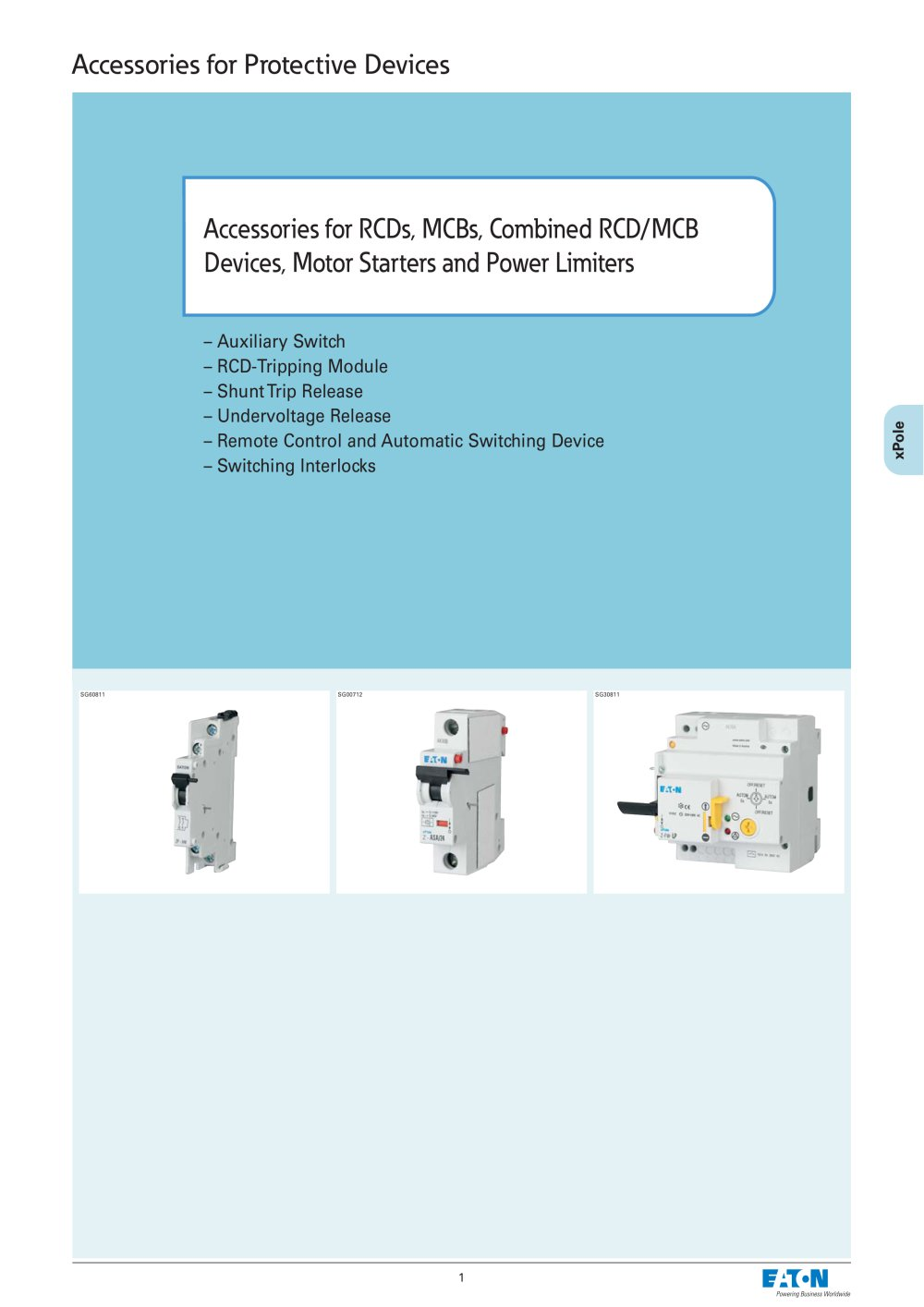 accessories for rcds mcbs combined rcd mcb devices motor accessories for rcds mcbs combined rcd mcb devices motor starters and power limiters 1 12 pages