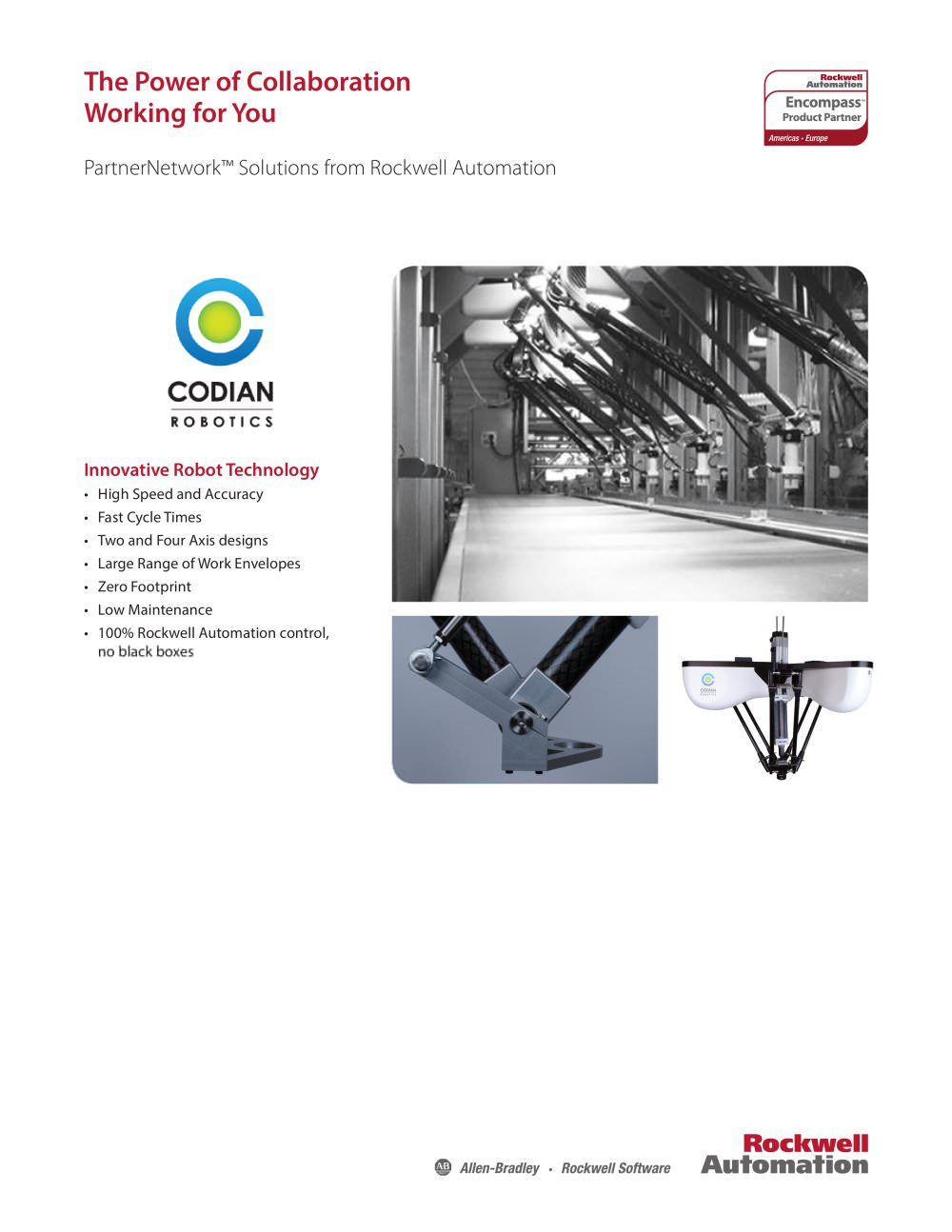 Encompass Partner - Codian Robotics - Allen Bradley - PDF Catalogue ...