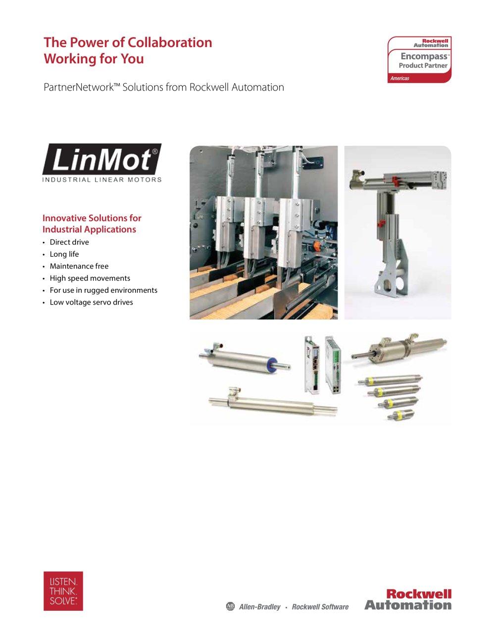 Encompass Partner - LinMot USA, Inc - Allen Bradley - PDF Catalogue ...