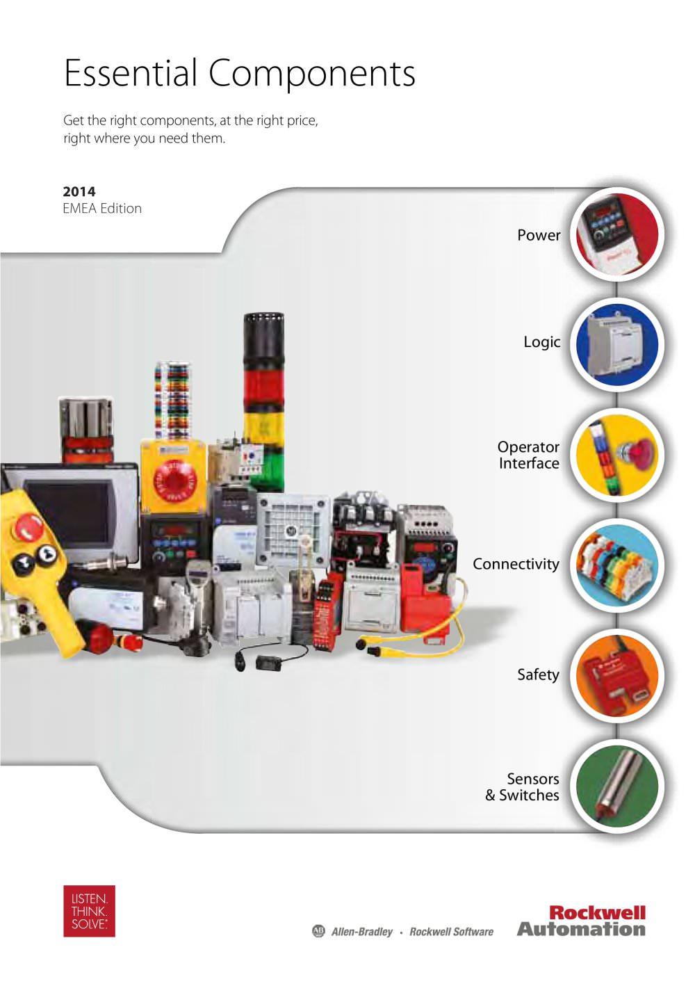 Essential Components - Allen Bradley - PDF Catalogue | Technical ...