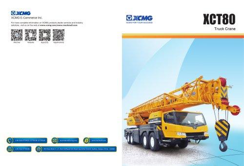 Truck Crane XCT80