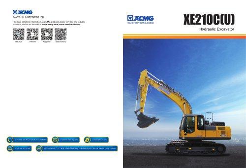 XCMG  excavator XE210C construction