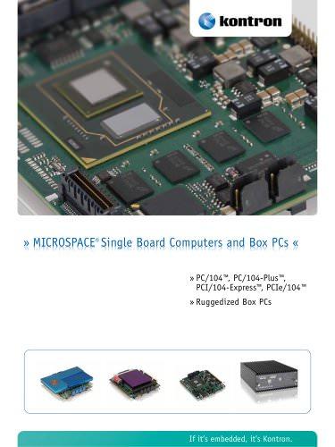 MICROSPACE® Single Board Computers and Box PCs