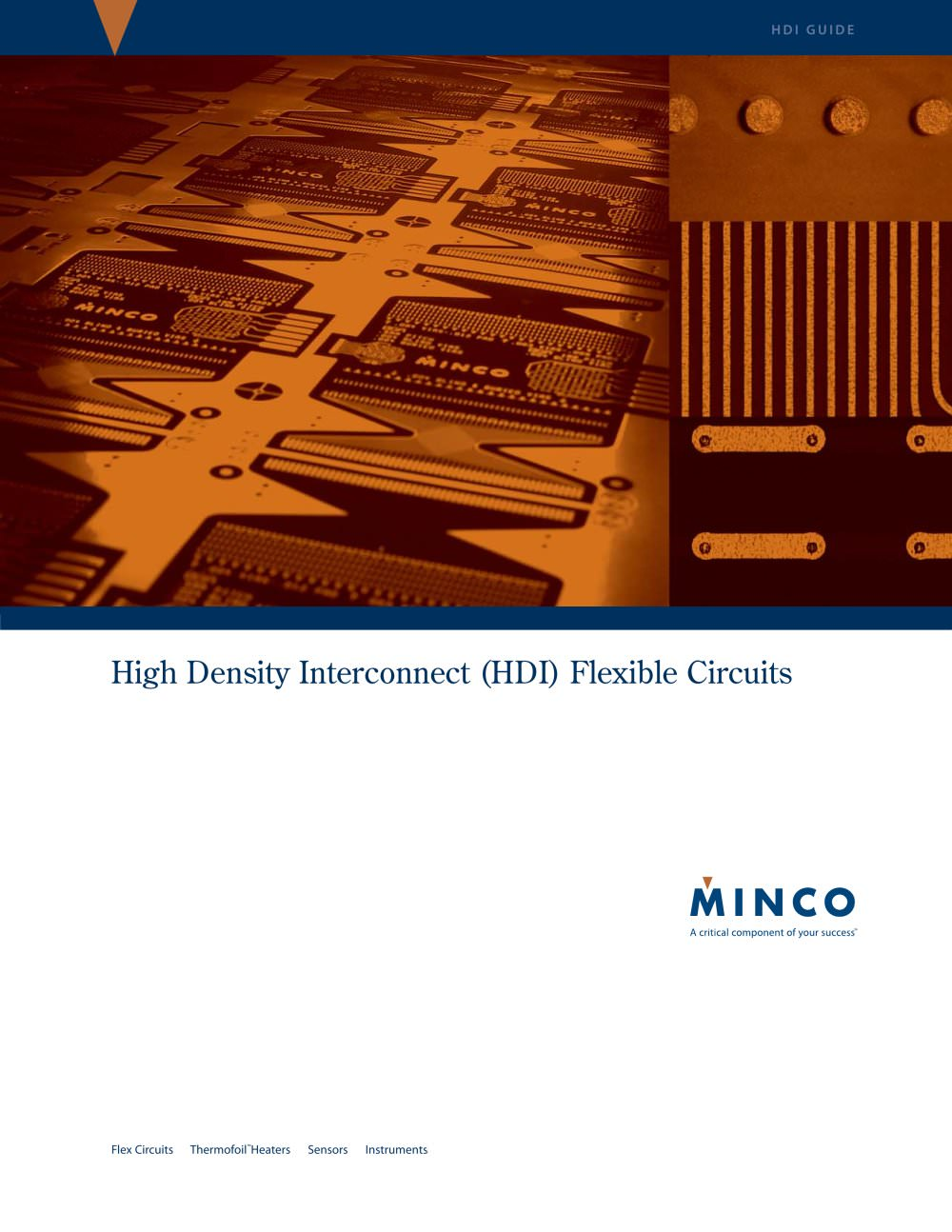 hdi high density interconnect flexible circuits brochure minco
