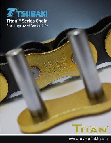 Titan Series Chain - Tsubakimoto Chain - PDF Catalogs
