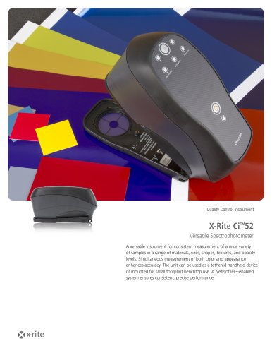 Spectrophotometer X-Rite Ci™52