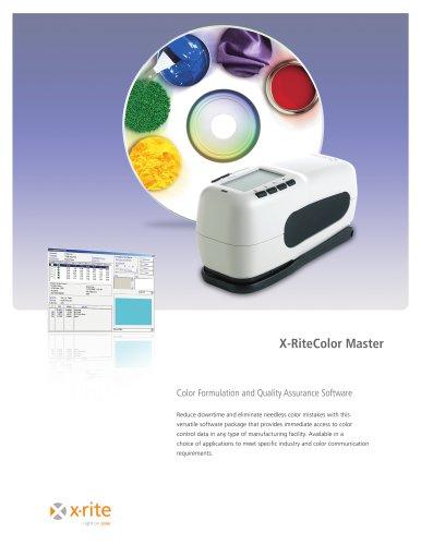 X-RiteColor Master