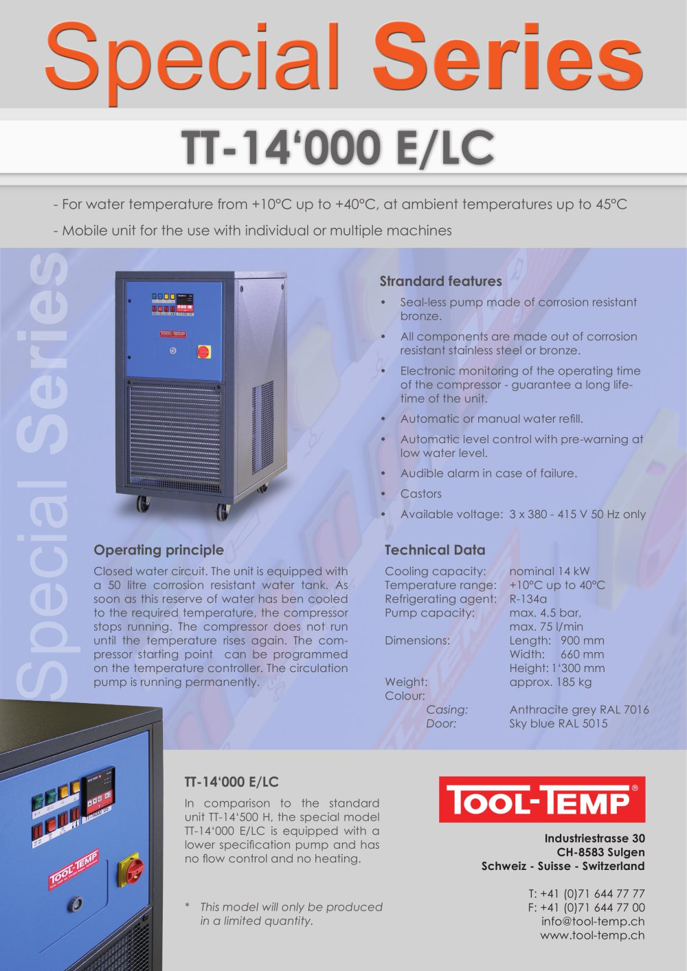 Special Series Tt 14000 E Lc Tool Temp Ag Pdf Catalogue Voltage Ss And Parallel Circuits 1 Pages