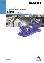Process magnetic drive pumps  MDE series