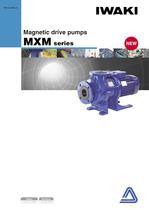 Process magnetic drive pumps  MXM series