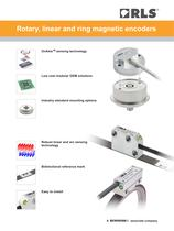Flyer: Rotary, linear and ring magnetic encoders