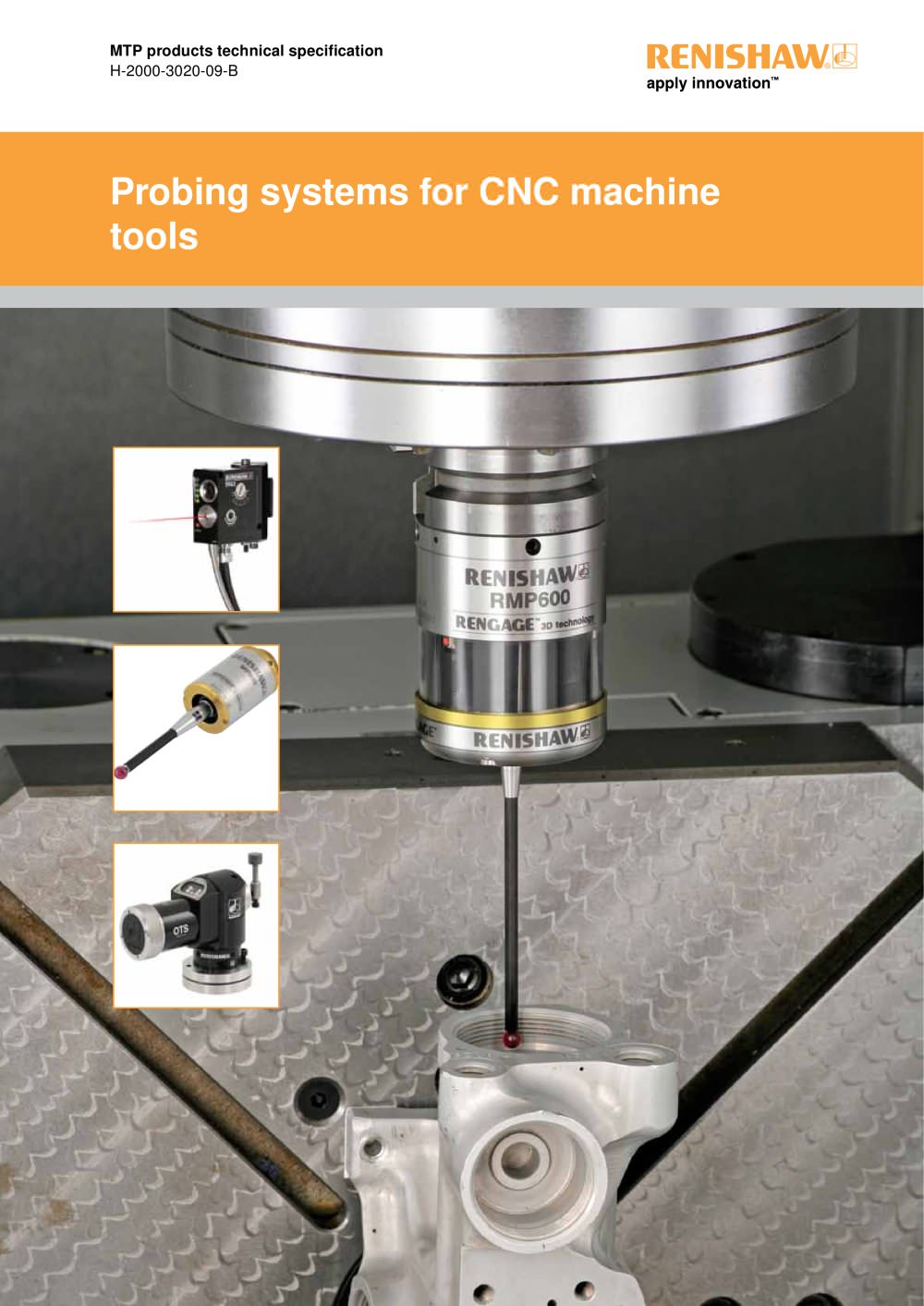 Probing systems for CNC machine tools technical - RENISHAW - PDF ...