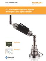QC20-W wireless ballbar system description and specifications