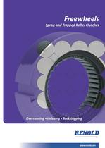 Freewheels - Sprag &amp; Trapped Roller Clutches
