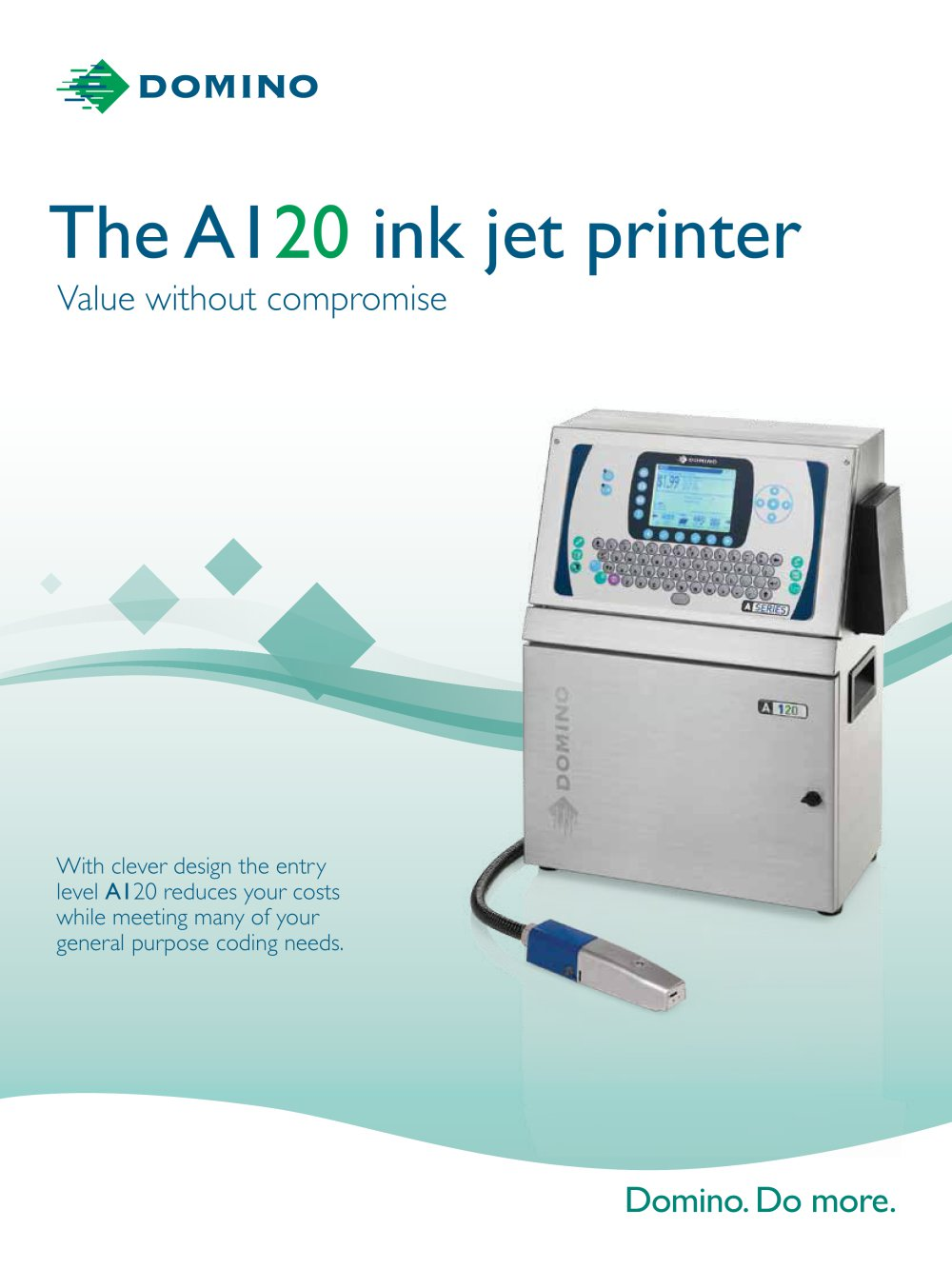 The A120 ink jet printer - 1 / 4 Pages