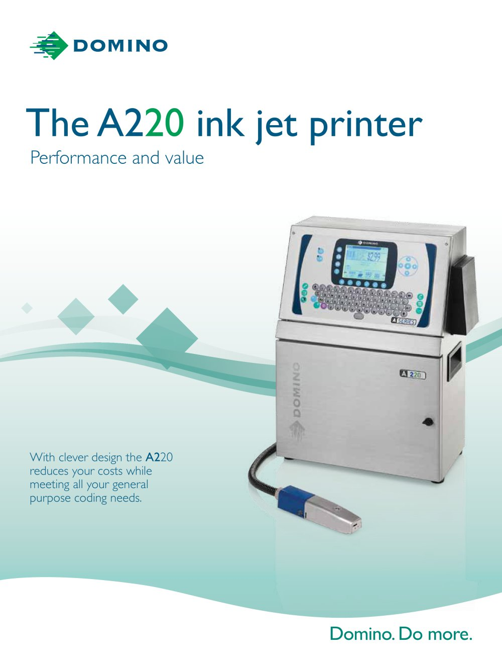 The A220 ink jet printer - 1 / 4 Pages