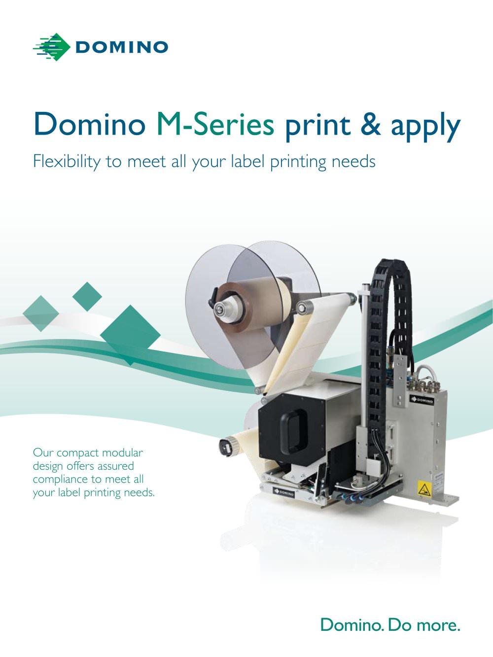 domino m series domino pdf catalogue technical documentation rh pdf  directindustry com