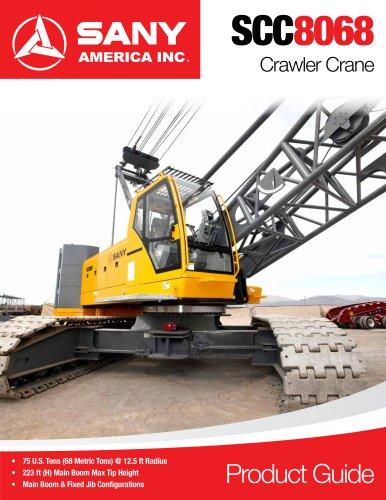 SANY SCC8068 Crawler Crane - SANY - PDF Catalogs | Technical