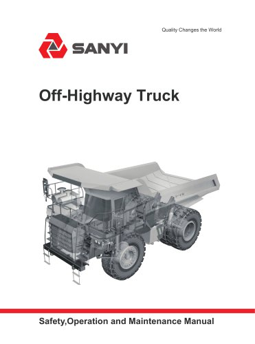 SRT95C - SANY - PDF Catalogs | Technical Documentation | Brochure