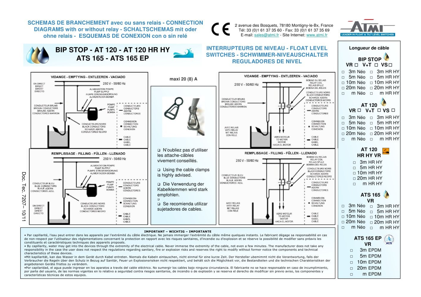 Wiring A Ats Best Electrical Circuit Diagram Sederhana Diagrams Bip Stop At Atmi Pdf Catalogue Rh Directindustry Com Salzer