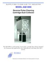 Reverse Pulse Cleaning Cartridge Dust Collector
