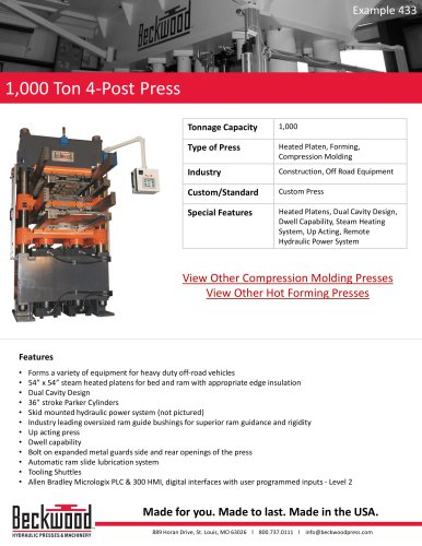 1,000 Ton 4 - Post Press - Beckwood Press - PDF Catalogs