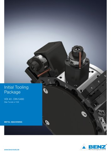 Initial Tooling Package