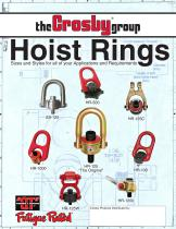 Hoist Rings English Imperial/Metric
