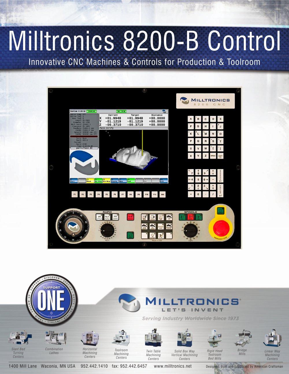 Milltronics 8200-B Control - Milltronics Manufacturing - PDF ...