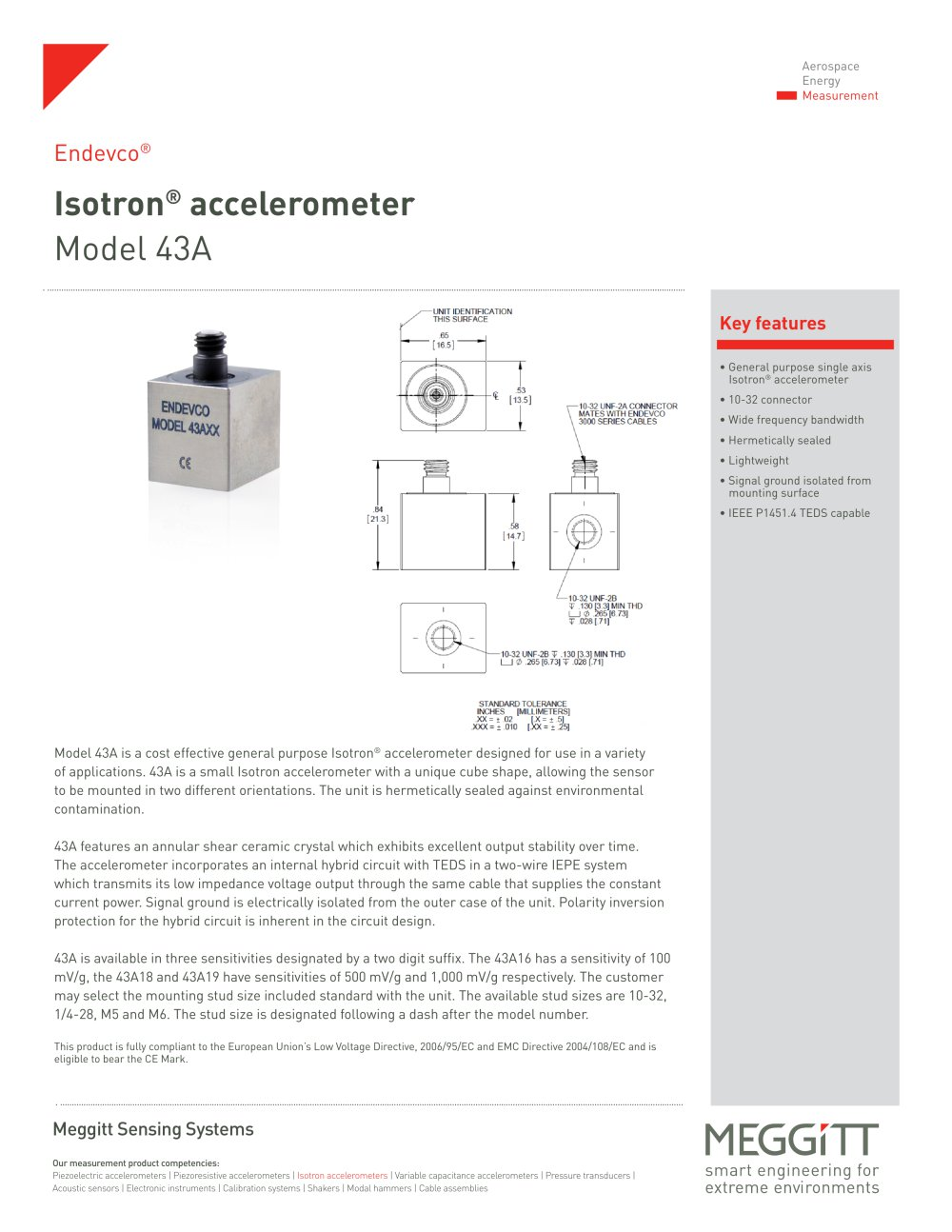 43A - Meggitt Sensing Systems - Measurement Group - PDF Catalogue ...
