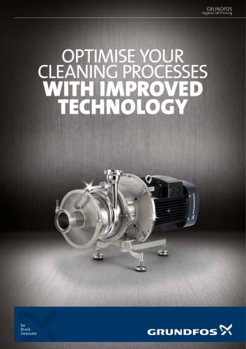 GRUNDFOS Hygienic Self Priming