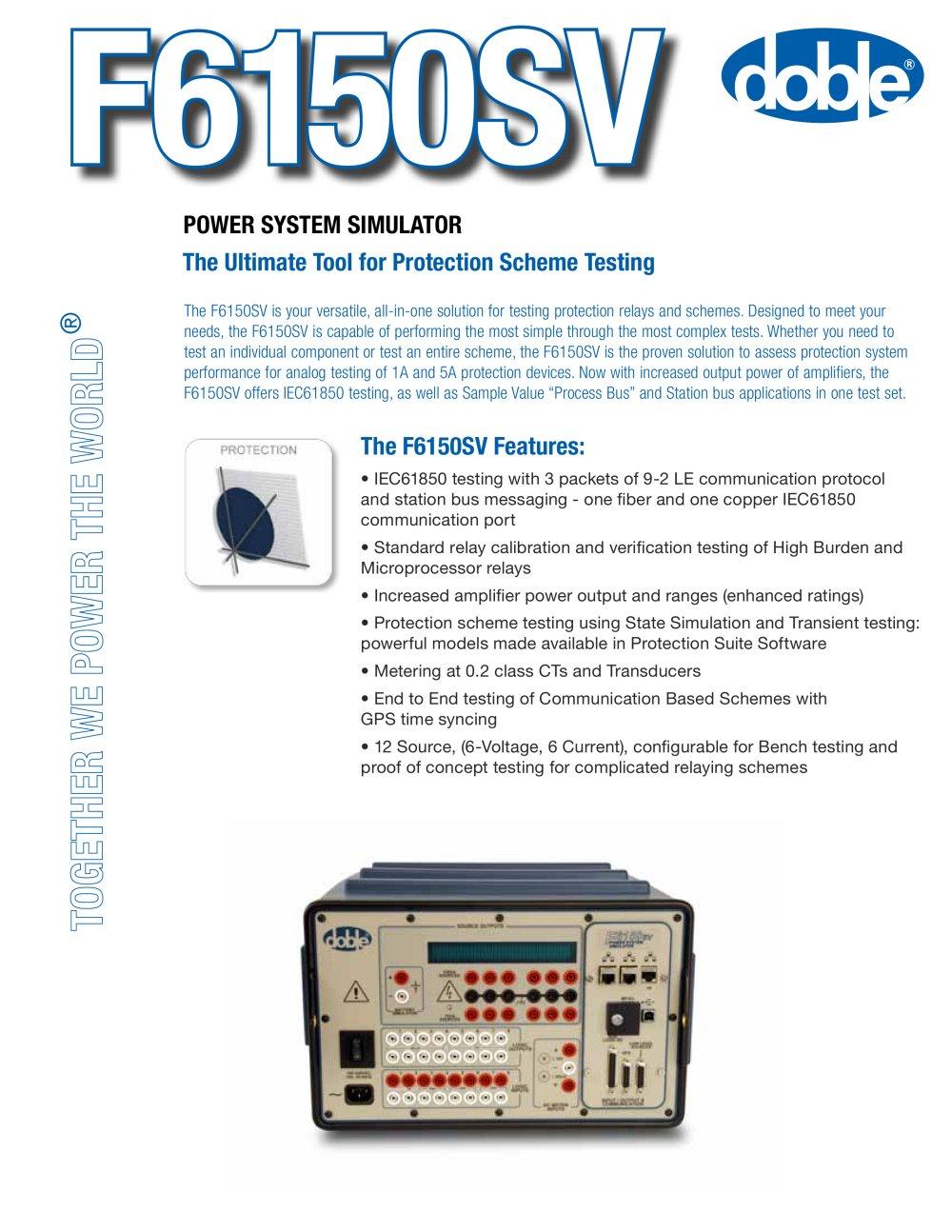Simulator power bench 97