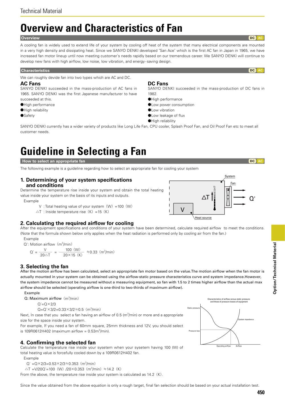 Electrolytic Corrosion Proof Fan - SANYO DENKI America, Inc