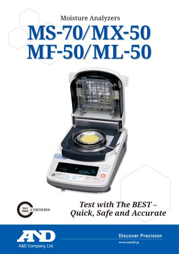 Moisture Analyzer/M series