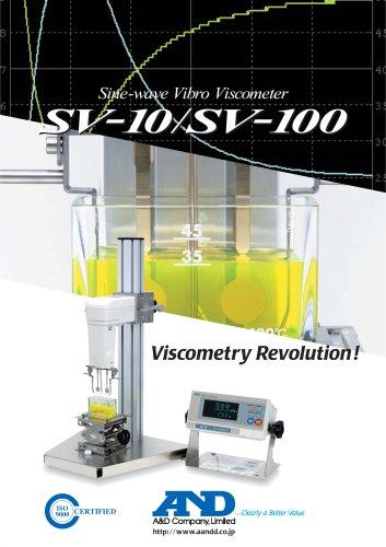 Sine-wave Vibro Viscometer/SV-10