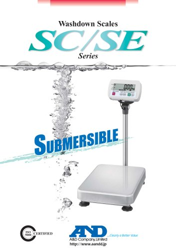 Washdown Scales/SC&SE Series