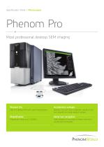 Specification Sheet: Phenom G2 pro