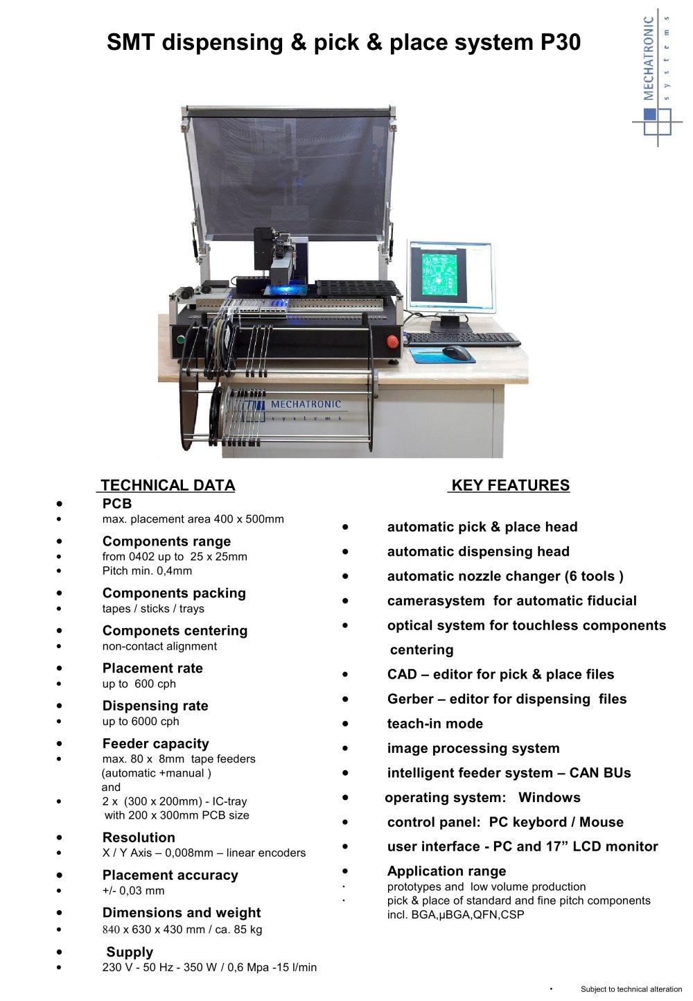 P30 Pdf Printer
