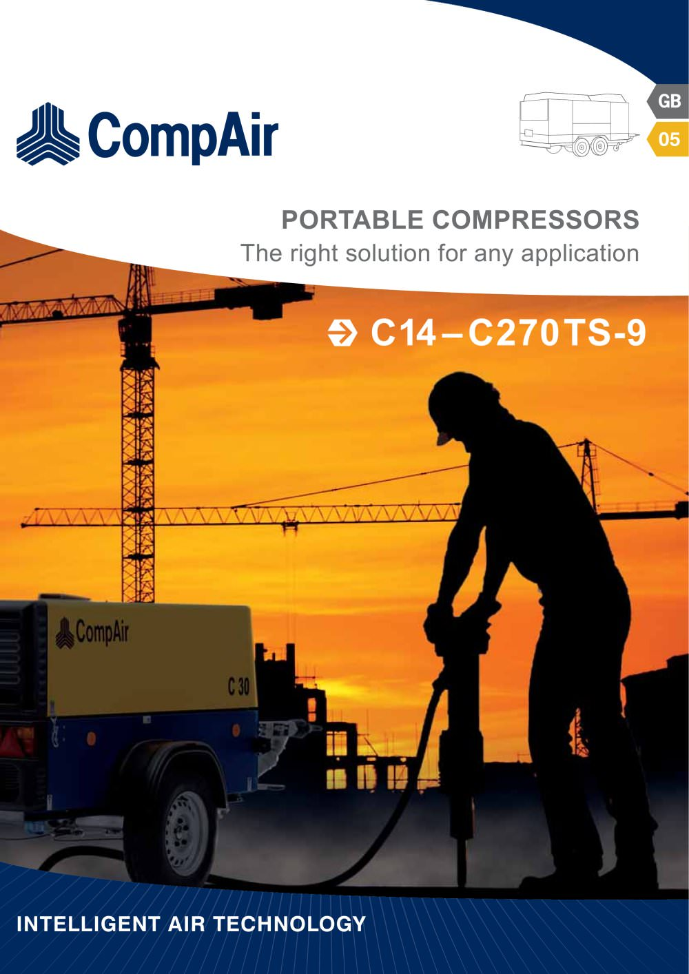 C-Series - Portable Compressors - 1 / 14 Pages