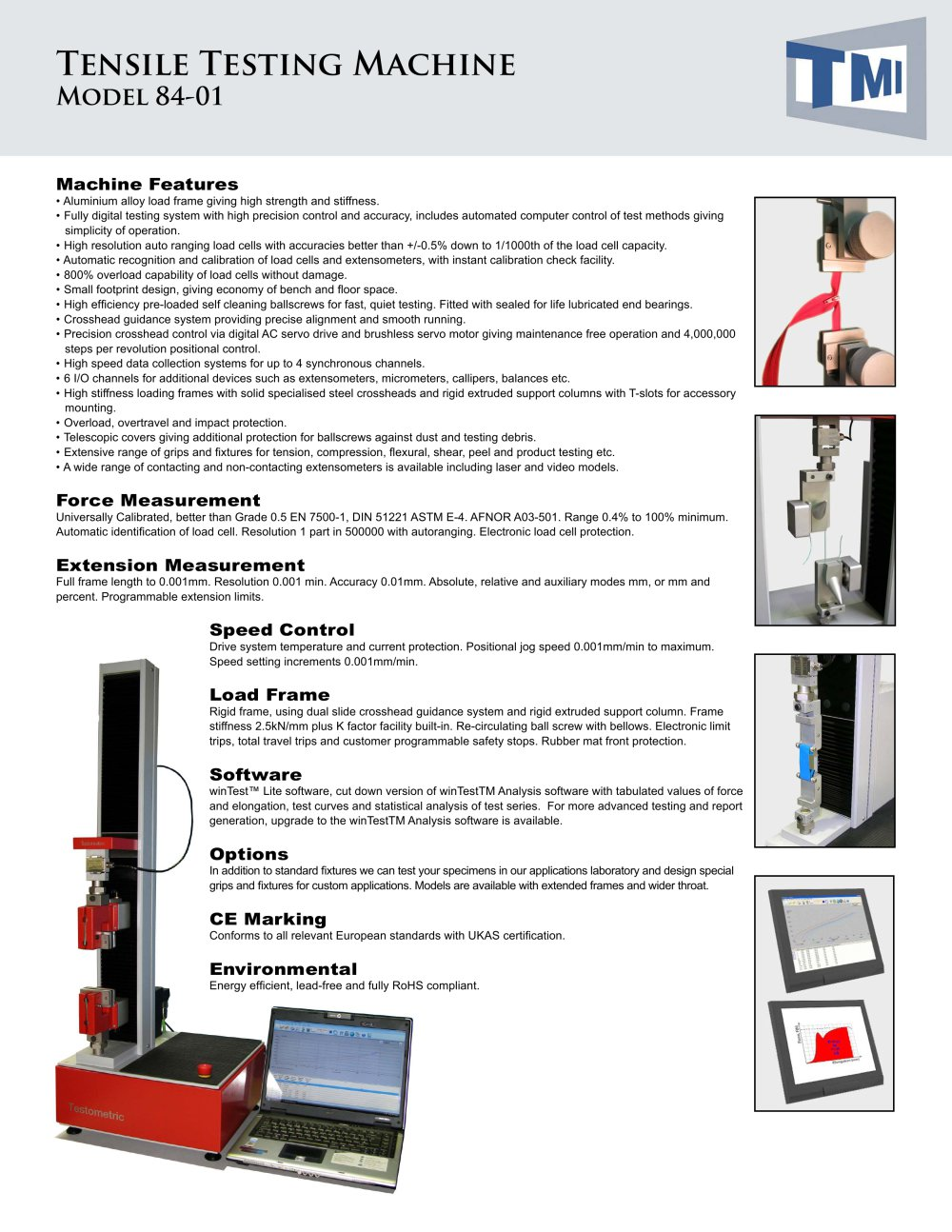 84-01 Tensile Testing Machine - Testing Machines Inc - PDF Catalogue ...