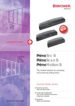 PrimeTec / PrimeScan / PrimeMotion B